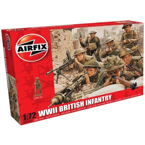 AFX WWII British Infantry 1/72