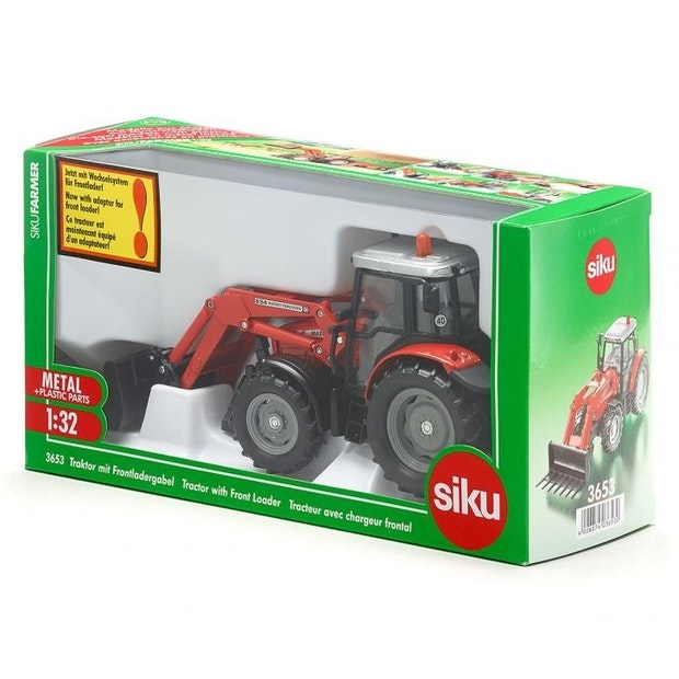 Siku Massey 894 Front Loader With Loader 1:32