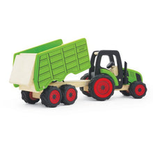 Load image into Gallery viewer, Pintoy Tractor with Trailer