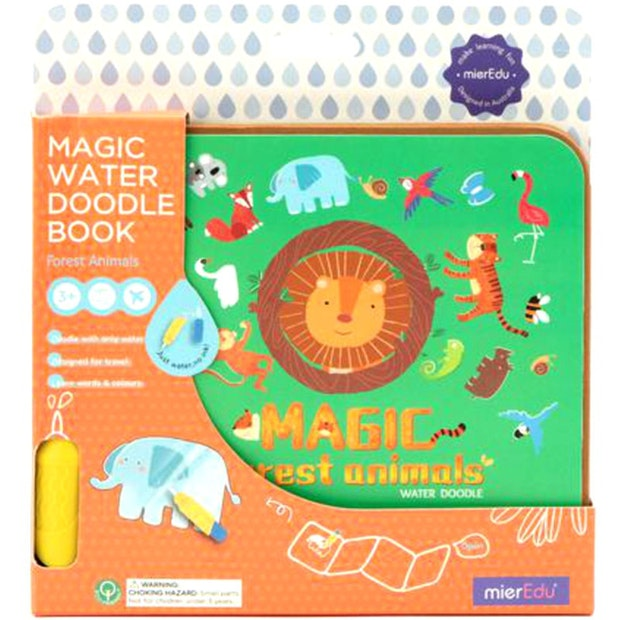 Magic Water Doodle Forest Animals