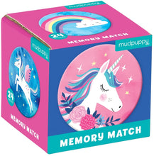Load image into Gallery viewer, Unicorn Mini Memory Match Game