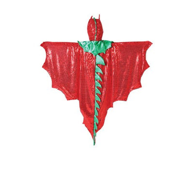 Dragon Cape Large Red-Green