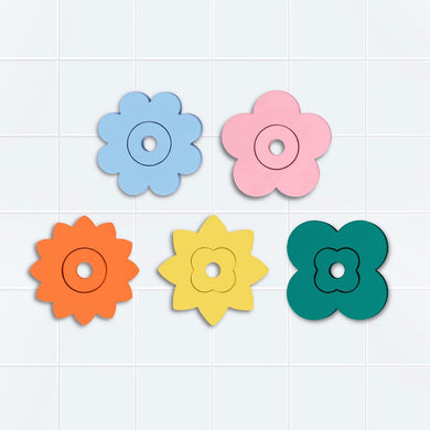 Flower Power Bath Puzzle