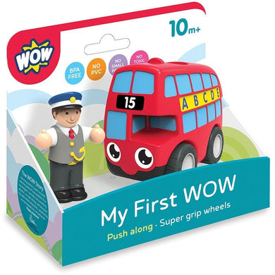 My First Wow Red Bus Basil