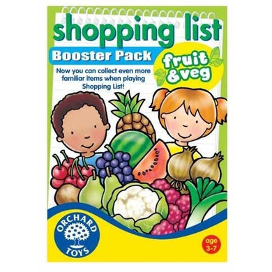 Booster Shopping list Fruit and Vege