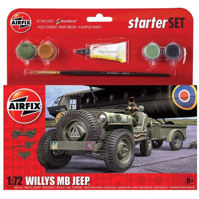Model Willys Jeep Starter