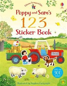 Poppy and Sams 123 Sticker Book