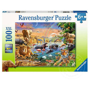 RB Savannah Jungle Waterhole 100Pc