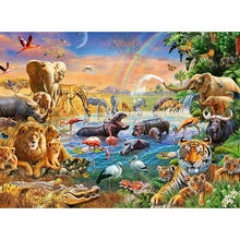 Load image into Gallery viewer, RB Savannah Jungle Waterhole 100Pc