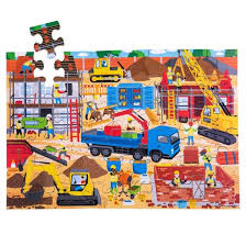 Construction Site Floor Puzzle