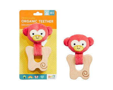 Cheeky Monkey Organic Teether