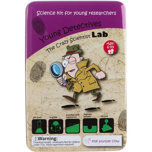 Crazy Scientist Young Detective Lab