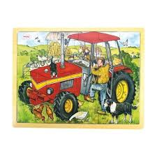 Tractor 24 Pc Tray