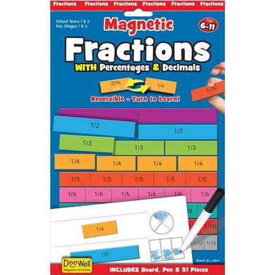 Fractions Percent Decimals Magnetic