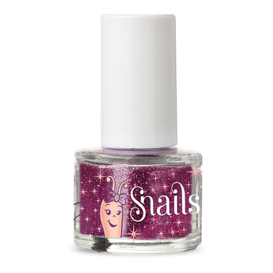 Snails Purple Red Glitter