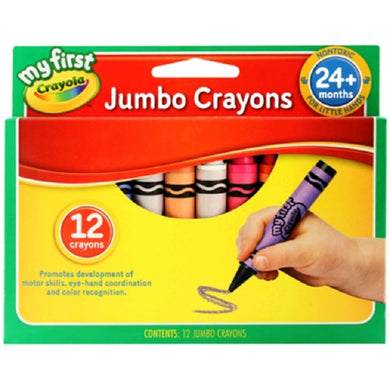 My First Jumbo Crayons 12