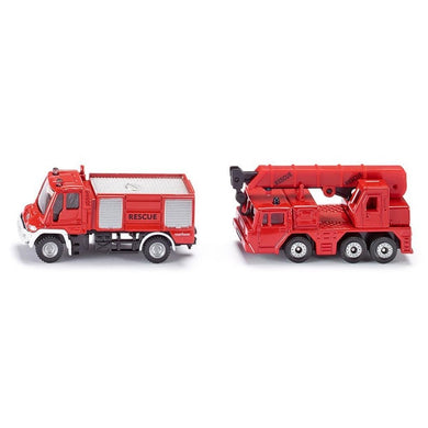 Unimog Fire Truck and Crane