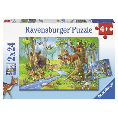 RB At Cute Forest Animals 2x24pc