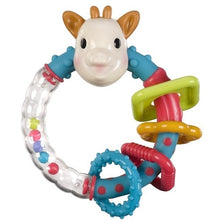 Load image into Gallery viewer, Sophie the Giraffe Multi Tex Rattle