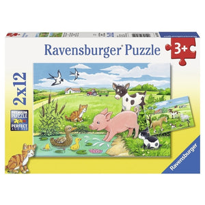 RB Baby Farm Animals 2x12pc