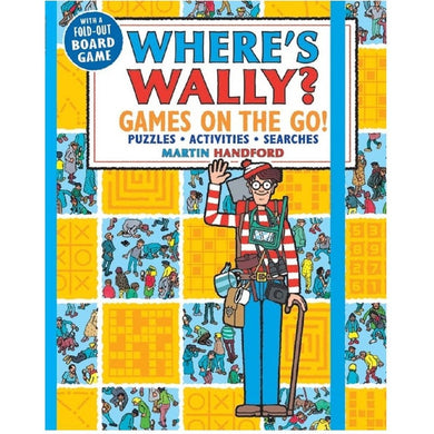 Wheres Wally? Games on the Go! Bk