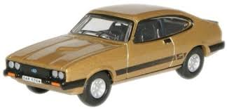 OX Ford Capri MkIII Gold