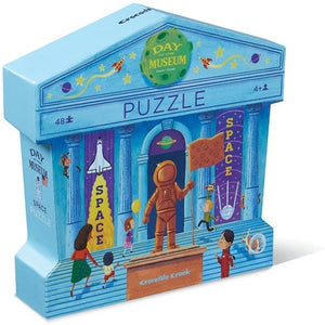 CC Shaped Puzzle Space 48pc