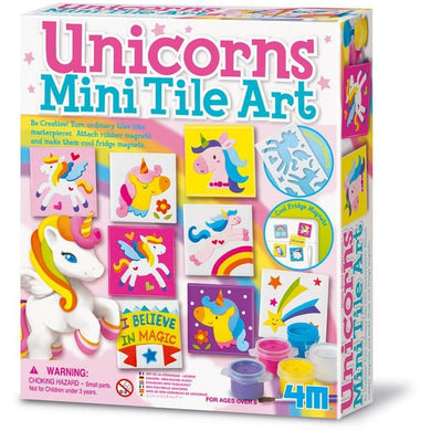 Unicorns Magnetic Tile Art