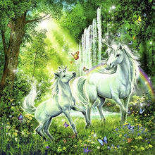 Load image into Gallery viewer, RB Beautiful Unicorns 3x49pc pzl