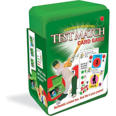 Test Match Cricket Card Game