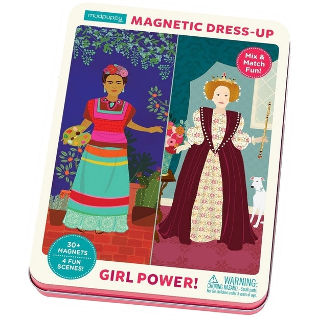 Mudpuppy Girl Power Mag Dress Up