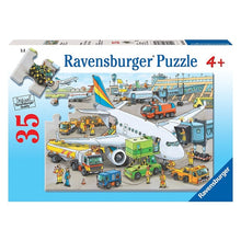 Load image into Gallery viewer, Busy Airport Puzzle 35 Pieces