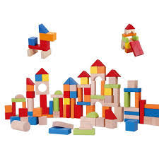100pc Wooden Block