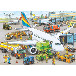 Busy Airport Puzzle 35 Pieces