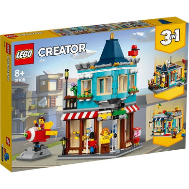 Lego Creator Townhouse Toy Shop 31105