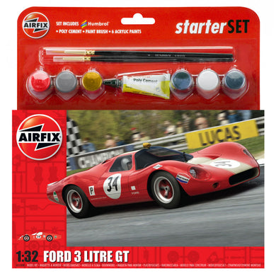 AFX Large Starter Ford GT Star