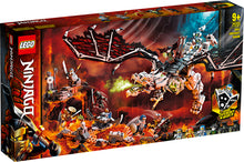 Load image into Gallery viewer, Lego Nin Skull Sorcerers Dragon 71721