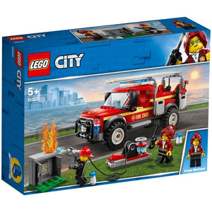 Lego City Fire Chief Truck 60231