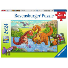 Load image into Gallery viewer, RB Dinosaurs at Play 2x24pc