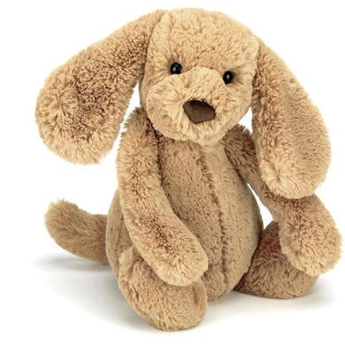 Jellycat Bashful Toffee Puppy Med