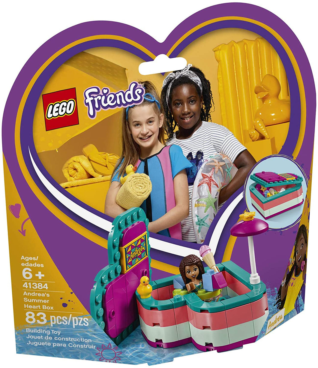 Lego Friends Andreas Summer Box 41384