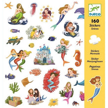 Load image into Gallery viewer, Djeco Stickers Mermaids