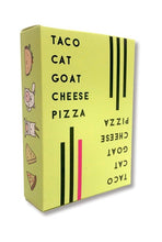 Load image into Gallery viewer, Taco Cat Goat Cheese Pizza Game