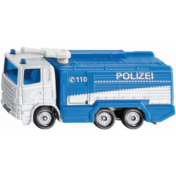 Siku Scania Police Water Cannon