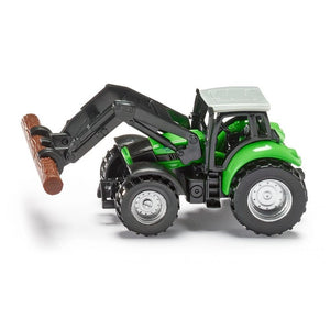 Siku 1380 Tractor with Pliers/Wood