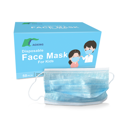 Kids 3-Ply Disposable Protective Masks (50 pack)