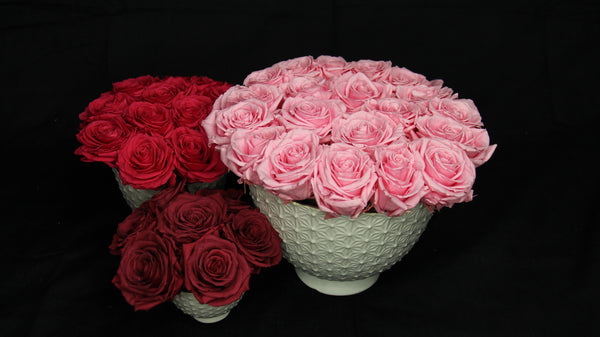 THE MEDIUM GRAND ROSES - Bloom Plan Design Miami Flower Delivery Services Father' Day gift Dad