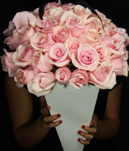 Pink Florence Flower Bouquet - Bloom Plan Design Miami Flower Delivery Services Father' Day gift Dad