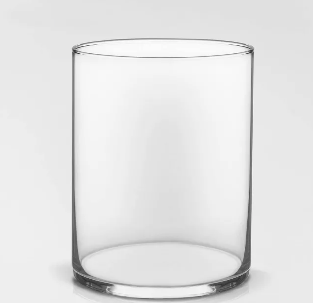 A Minimalistic Glass Vase - Bloom Plan Design Miami Flower Delivery Services Father' Day gift Dad