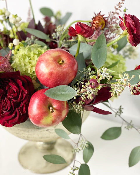 Apples and Flowers Deluxe
